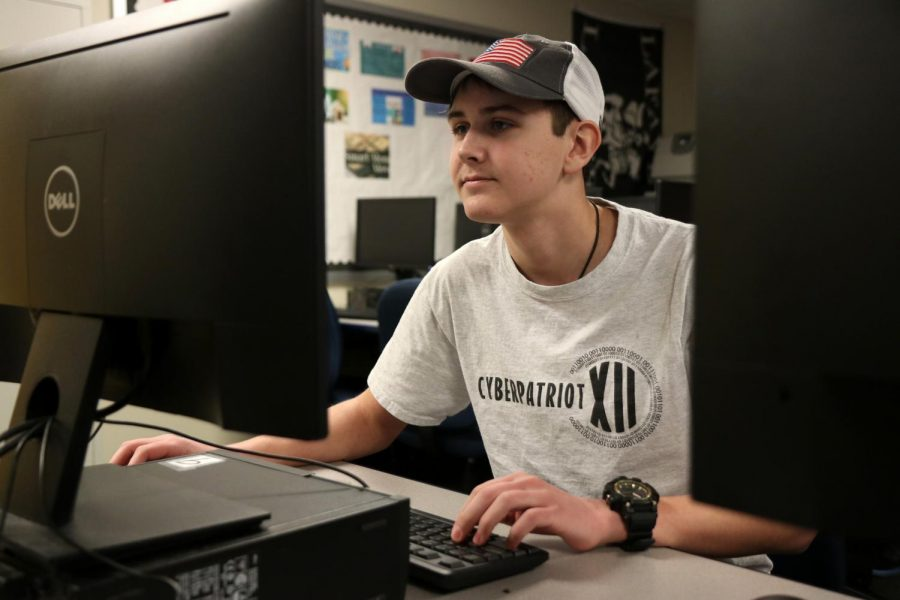 In Jan. 2020, Lafayette's CyberPatriot team took part in a nation-wide competition and received a platinum rank, one of the highest awards on a state level. The five members of Cyber Lancers 2 worked to secure computer systems from potential threats.