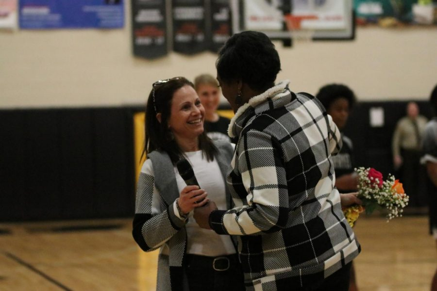 On Friday, Feb. 21 the Lafayette Lady Lancers basketball team hosted their first annual Shero Night, aimed to honor females