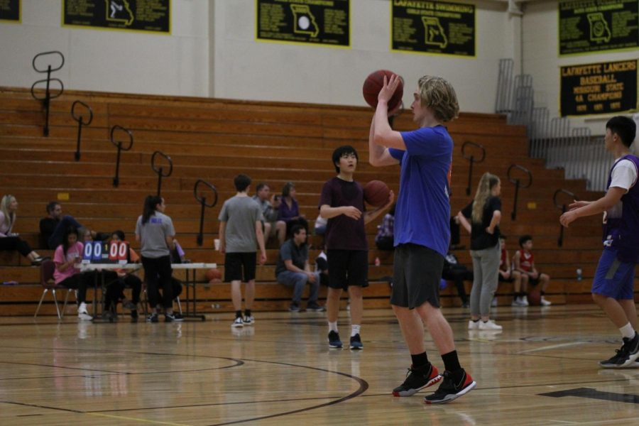 NHS hosts first 3 vs 3 Basketball Tournament