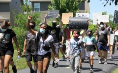 On June 13, 2020 many members of the Lafayette community came together to participate in a peaceful protest in support of the Black Lives Matter movement. Class of 2020 graduates Malayka Walton and Shannon Worley, who were the leaders in the planning of the event, were pleasantly surprised with the large turnout.