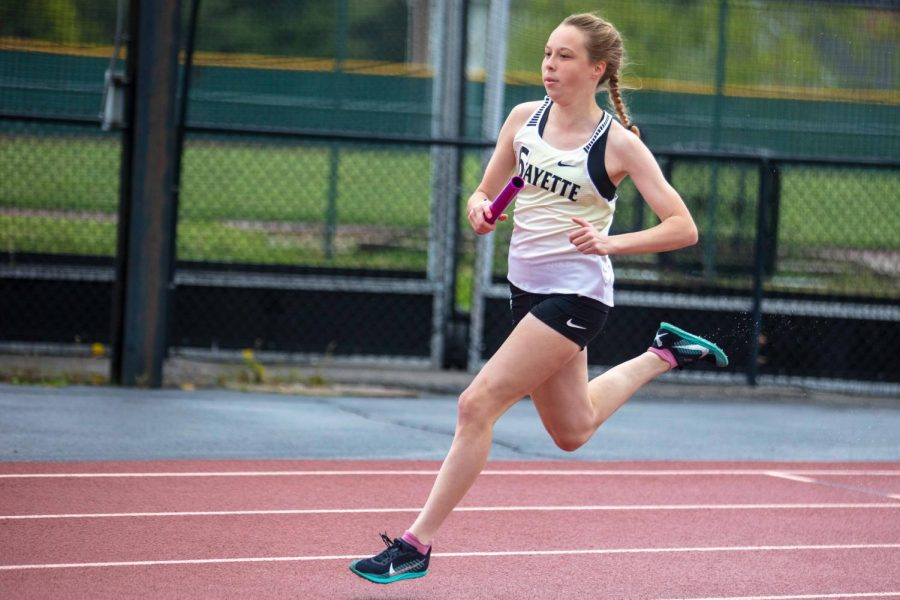 Rain fails to dampen events at LHS Invitational at end of April
