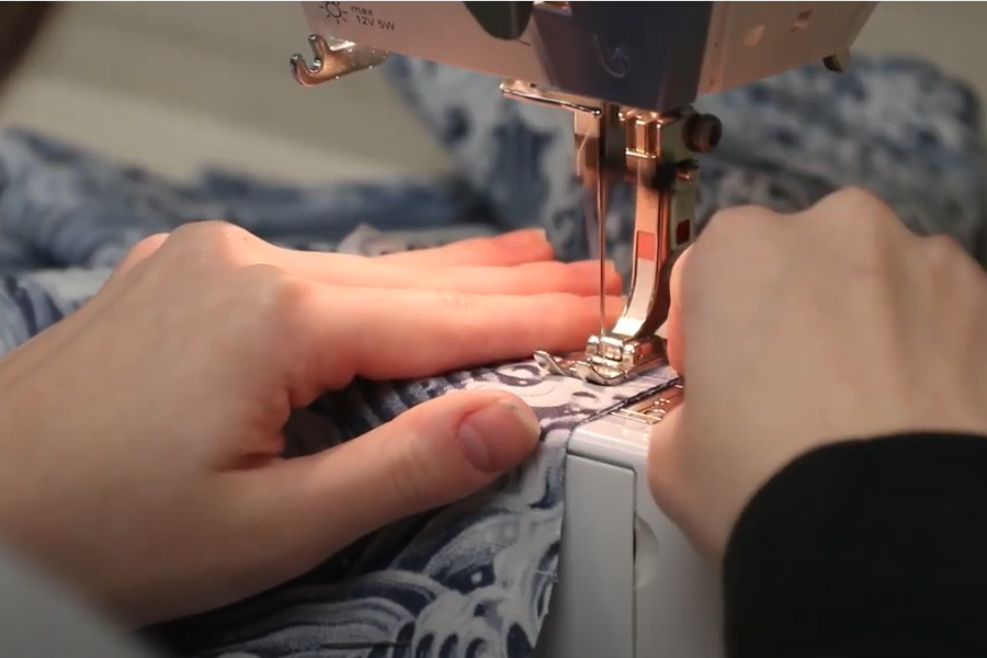 FACS students create pajamas in level one class