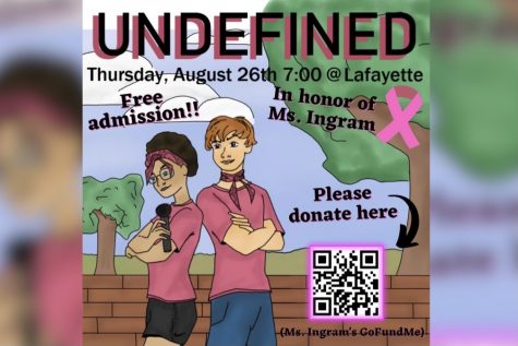 Undefined to host first improv show of the year in honor of Jenny Ingram