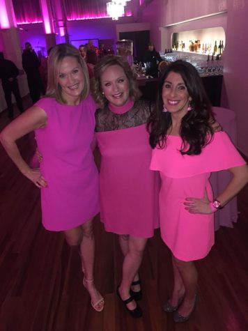 (From left to right) Emilie Hensley, Jenny Ingram and Tanya Srouji attend the second Breast Dance Party Ever, an event organized by Ingram with the help of her friends to benefit Gateway to Hope.
