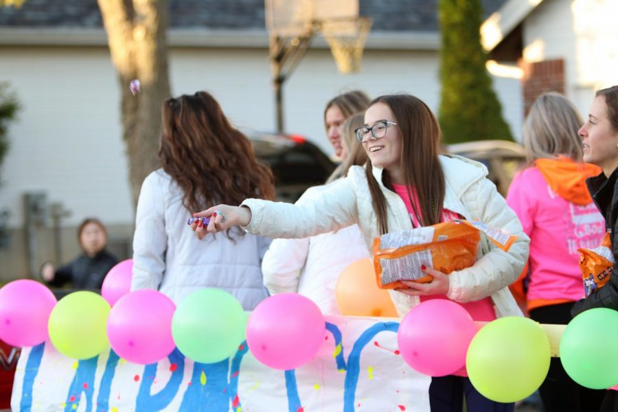 At the last in-person Homecoming Parade, the theme was Rock of Ages as Lafayette clubs and teams paraded their floats on the route to LHS from Green Pines. This year, the in-person parade returns on Oct. 1 at 5:30 p.m with the Olympics theme.