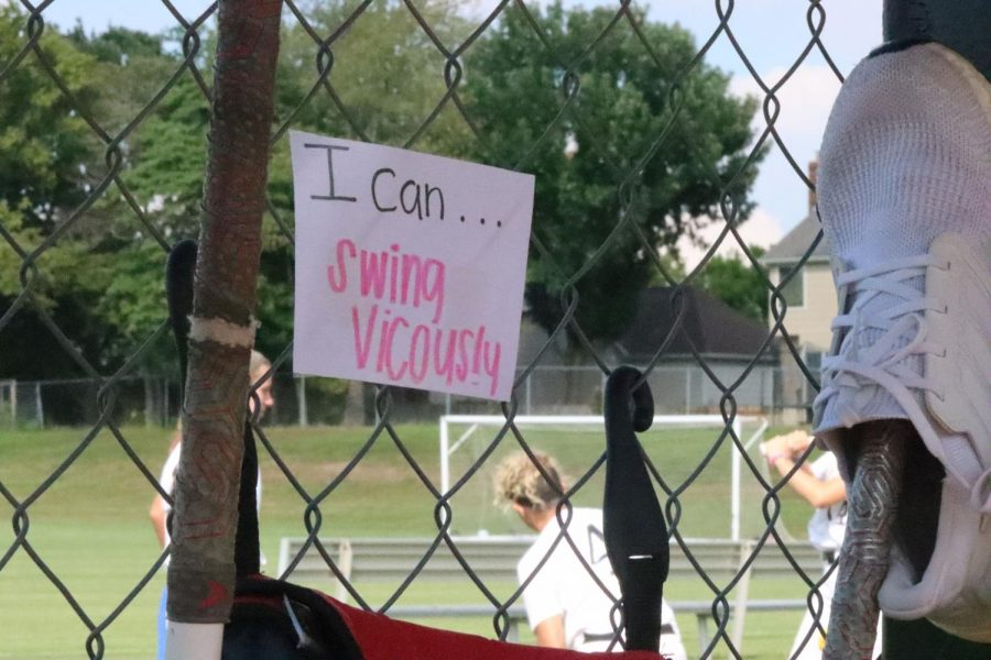As an attempt to uplift spirits after a 10-0 loss to Francis Howell Central, the team created I can statements during practice to encourage themselves and their teammates during the game about hitting approaches. Coach Ally McReynolds-Gardner said, It was kind of a mental exercise for them to build themselves up and have confidence in the box.